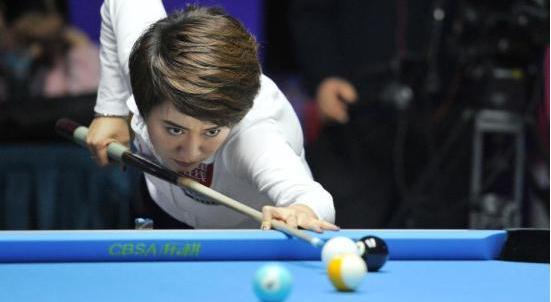 女子9球世锦赛:韩雨荣膺三冠王 中国实现六连冠
