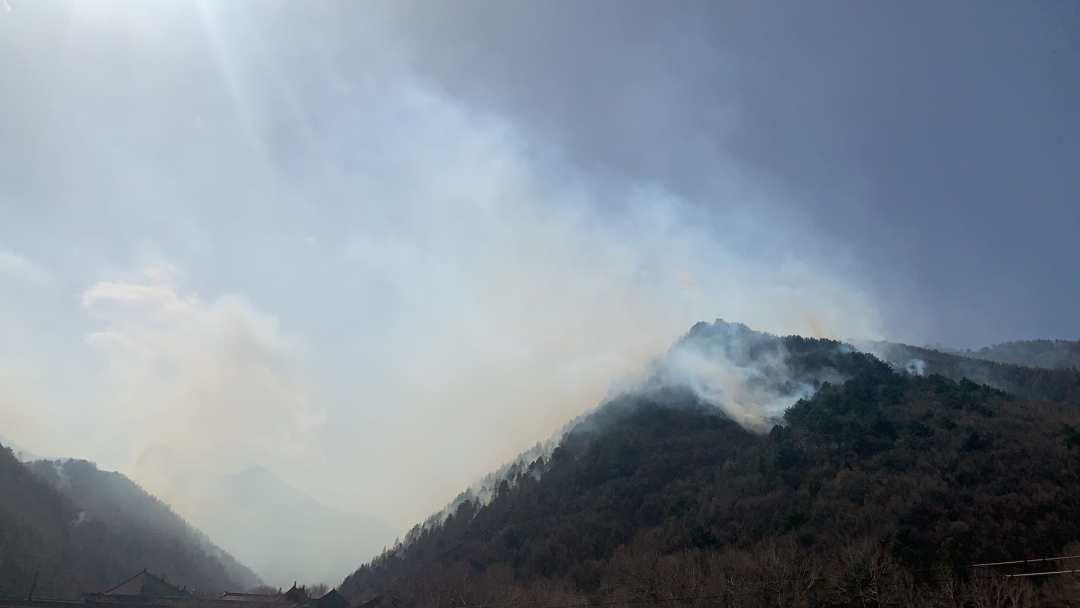 五台山火灾
